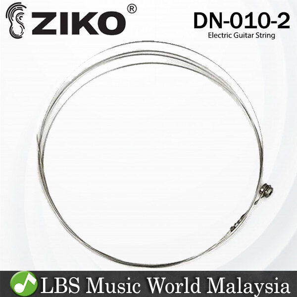 Ziko DN-010-2 Electric Guitar 2nd Loose String Nickle Wound Extra Light Special Bright (DN010) Malaysia