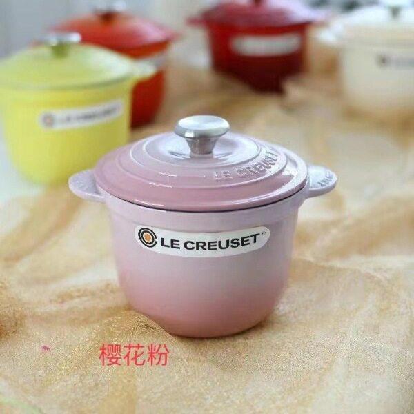 [LOVE YOUR HOUSE] 18cm Mini Pot Enamel Cast Iron Pot Health Pot Home Stew, Lecreuset, France Singapore