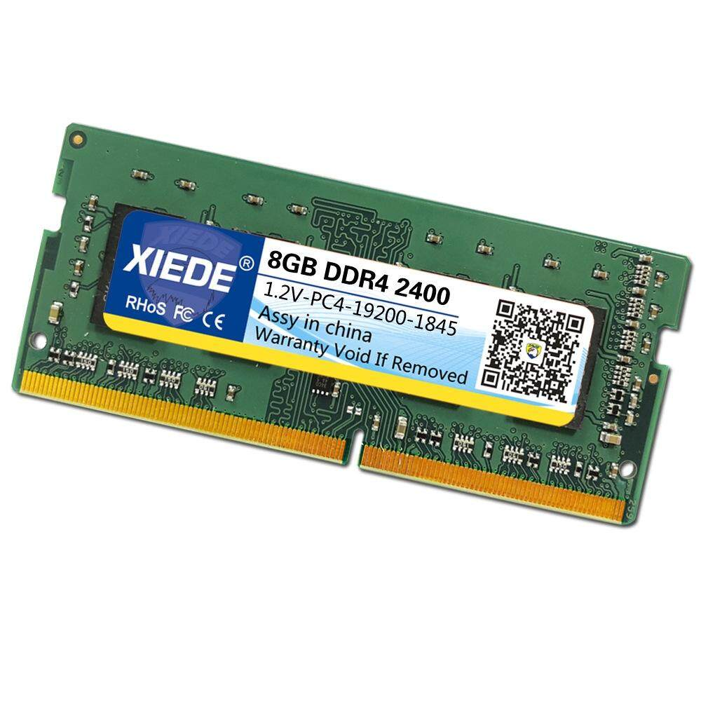 XIEDE DDR4 2400MHz 8GB PC4-19200 Memory RAM Module for Laptop