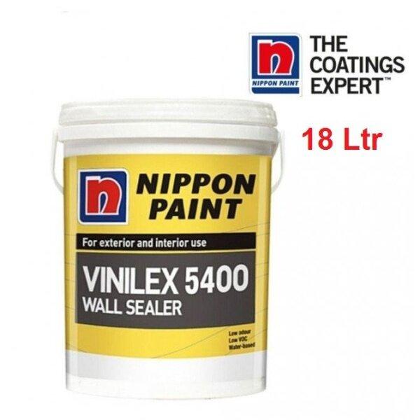 【100% Fresh Stock】Nippon 5400 Wall Sealer 18Liter (Undercoat Dinding/Undercoat Nippon/Undercoat Luar Dalam