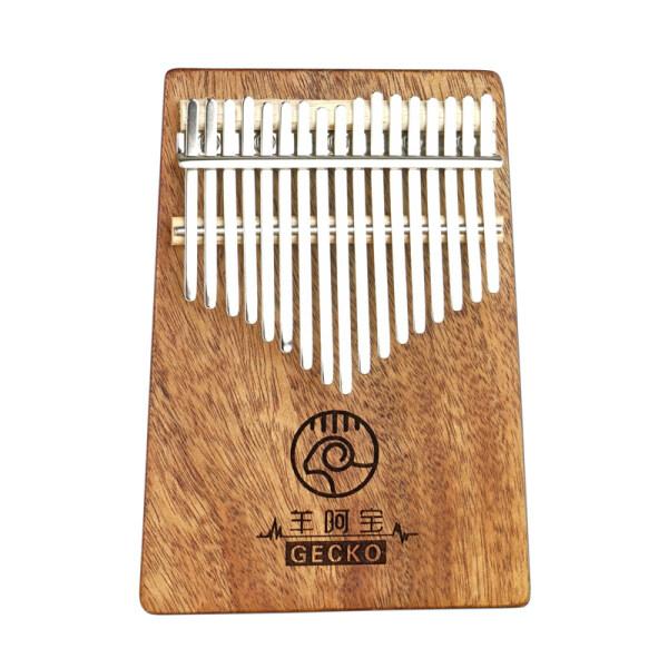 GECKO K17GY 17 Keys Kalimbas Finger Thumb Piano Wooden Keyboard Percussion Musical Instrument Gift Malaysia