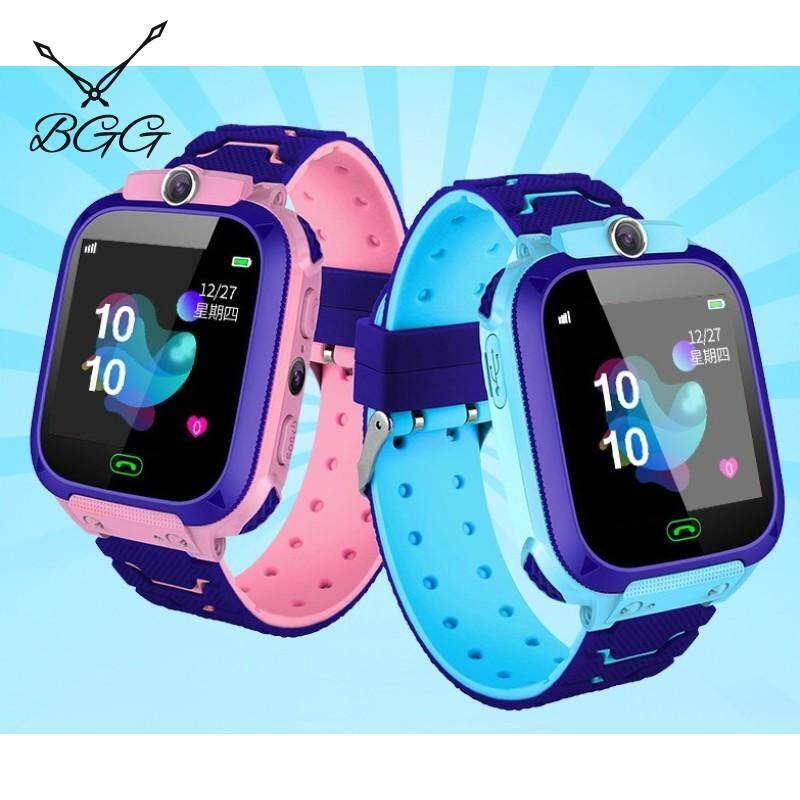 [RAYA SALE] BGG Kids Smart Watch Anti-Lost SOS Tracker Smartwatch Malaysia