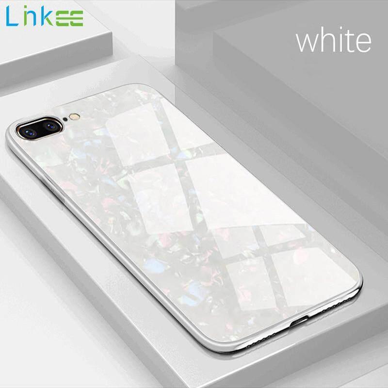 Giá Ốp lưng cường lực chống sốc cao cấp cho điện thoại 7 Plus/ điện thoại iPhone 8 Plus【Ốp lưng Vỏ cứng khung mềm】 - Linkee