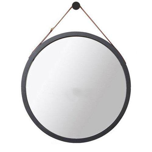 Bathroom Mirror Makeup Mirror Wall Hanging Mirror Entrance mirror  By Olive Al Home(45cm)