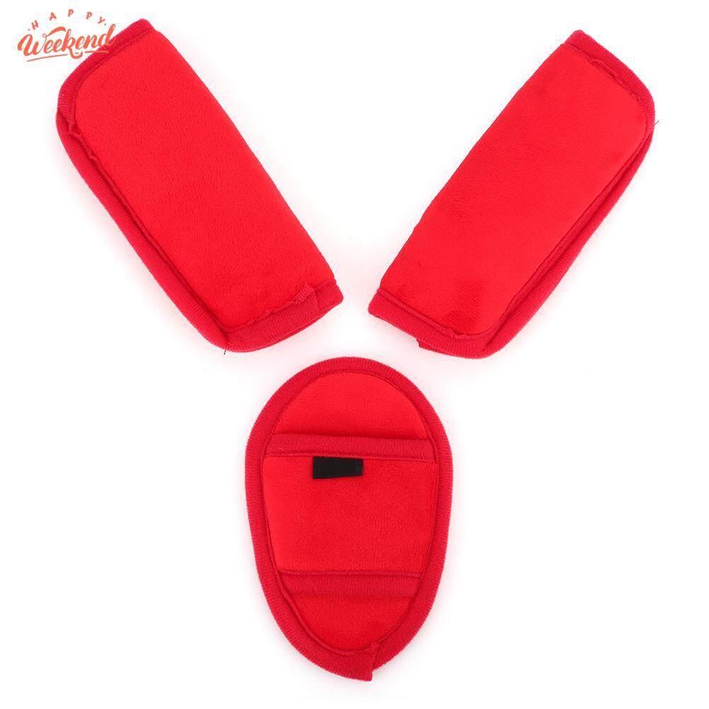 Baby Kids Stroller Car Seat Vehicle Safety Belt Shoulder Strap Cover Pad