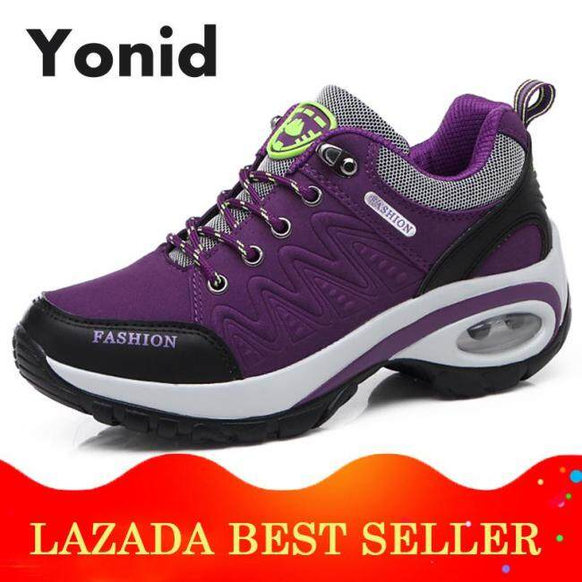 Yonid Giày Thể Thao Dành Cho Nữ Không Đệm Giày Quàng Nam Cắt Đi Bộ Đường Dài Chống Trượt Leo Núi Ngoài Trời Giày Thể Thao giá rẻ