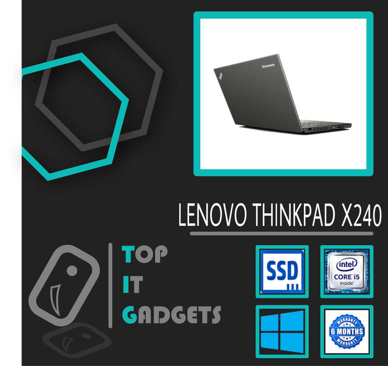 LENOVO THINKPAD X240 INTEL CORE i5 -4200U TURBO BOOST 2.60GHz / 8GB DDR3 RAM / 256GB SSD / INTEL HD GRAPHIC / 12.5 HD Malaysia
