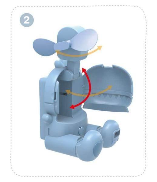 Quạt Mini Quạt Cầm Tay Cá Nhân Quạt Hỗ Trợ USB Quạt Đồng Hồ Đa Chức Năng Dành Cho Nam Nữ Phòng Du Lịch Cắm Trại Ngoài Trời