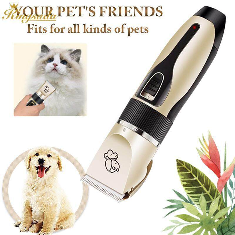 Kingsuda Cat Hair Cutter Dog Shaver Fashionable Practical Titanium Ceramic Pet Supplies Puppy By Kingsuda Store.