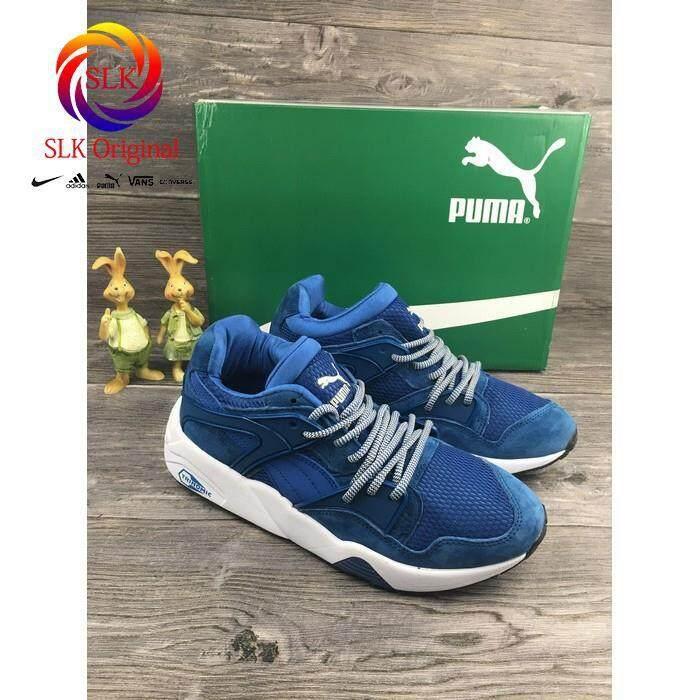 discount SLK_original puma_R698_blaze breathable knit running shoe for men women size 36-44