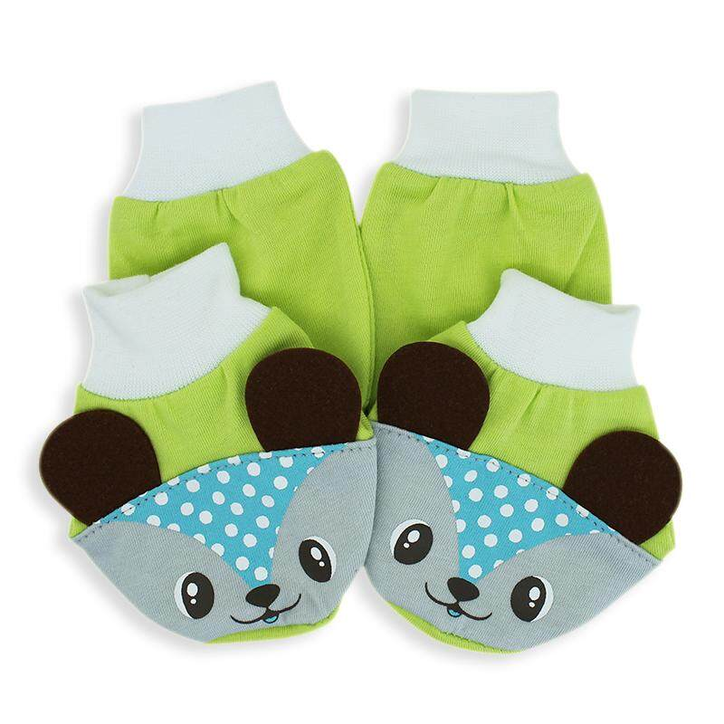 Okbb Mitten And Booties With Cute Animal One Set Mb2010_6_gl By Okbb Official Store.