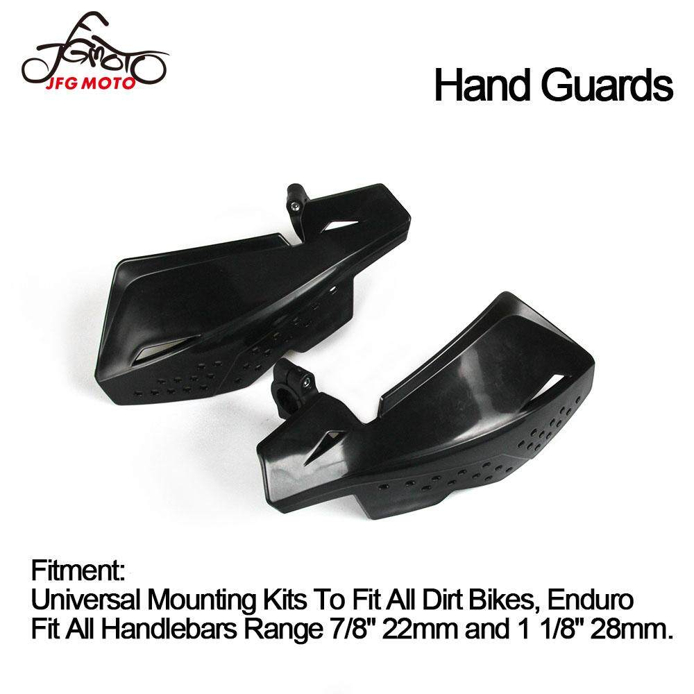 Yamaha 2pcs 7//8 22mm Universal Motorcycles Handguards Suzuki Red Dirt Bike Handlebar Hand Guards Wind Cold Protector for Honda KTM Kawasaki