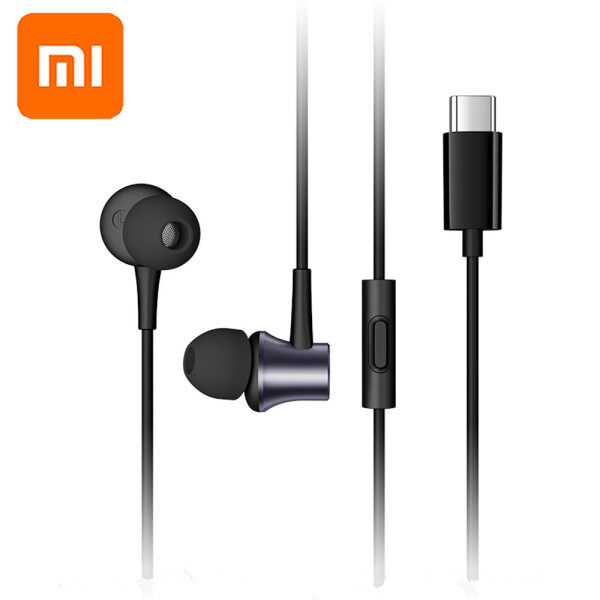 Original Xiaomi Piston3 Type C Noise Cancelling Earphone Wired Control With MIC Hybrid HD  USB-C Fresh Version in Ear Mi Earbuts for Mi 10 9 Pro 9 SE 8 A2 6 6X 5 5X 5S Plus MIX 2s 3 MAX 3 Singapore