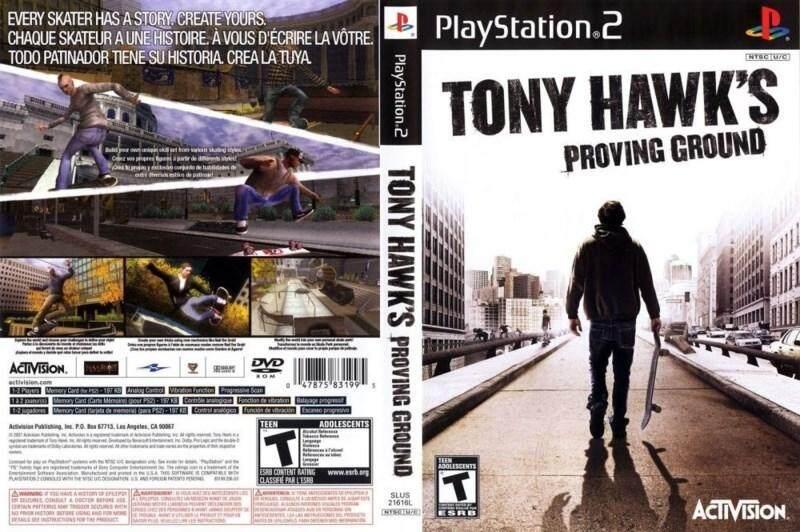 Ps2 Tony Hawks Proving Ground