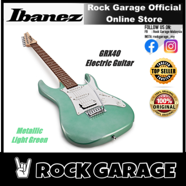 Ibanez GIO GRX40 Electric Guitar - Metallic Light Green(GRX40-MGN) Malaysia