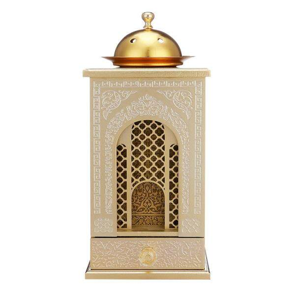 Wooden Incense Burner Tower Creative Mosque Shape Tower For Home Decoration