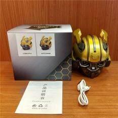 GloryStar Bumblebee Mũ Bảo Hiểm Bluetooth FM Radio USB Mp3 TF Thông Minh Siêu Trầm Bluetooth 5.0 Mini Di Động Không Dây Âm Thanh Stereo Loa