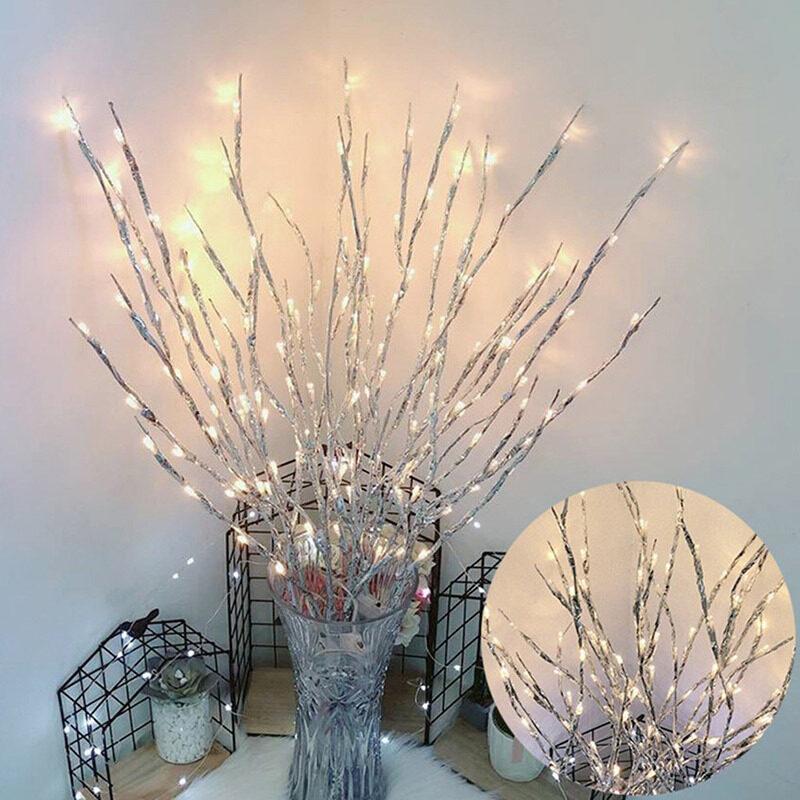【Hình ảnh hiệu ứng là 7 nhánh đèn】 Cây Chi Nhánh Ánh Sáng Mô Phỏng Tree Branch LED Lights Phòng Ngủ Bố Trí Ánh Sáng Ban Đêm Chuỗi Trang Trí Đèn