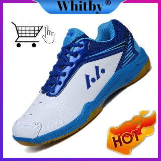Whitby Giày Cầu Lông Nhẹ Thoáng Khí Thoải Mái Mới Dành Cho Nam Và Nữ Giày Thể Thao Giày Chạy Bộ thumbnail