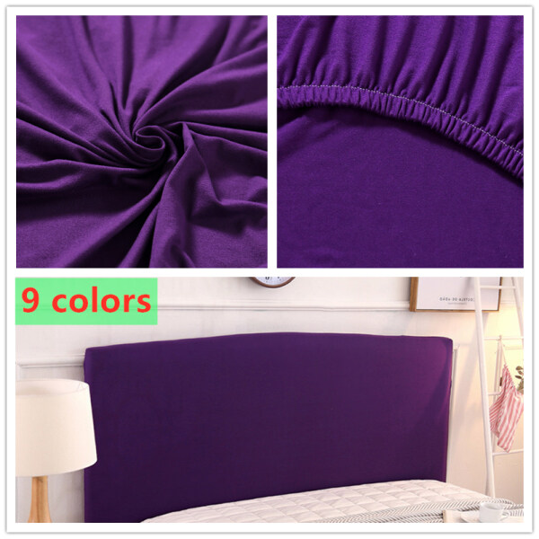 Stretch Headboard Cover Modern Home Decor Solid Color Stretchy Home, Hotel, Headboard Dustproof Cover