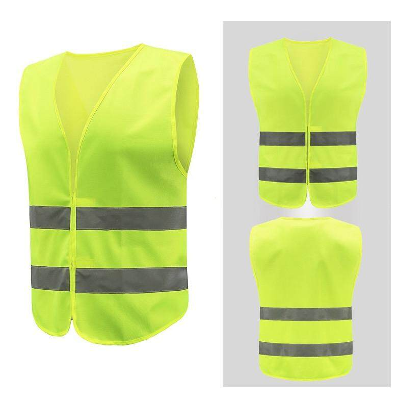 (local) yellow vest Baju Keselamatan rela safety vest
