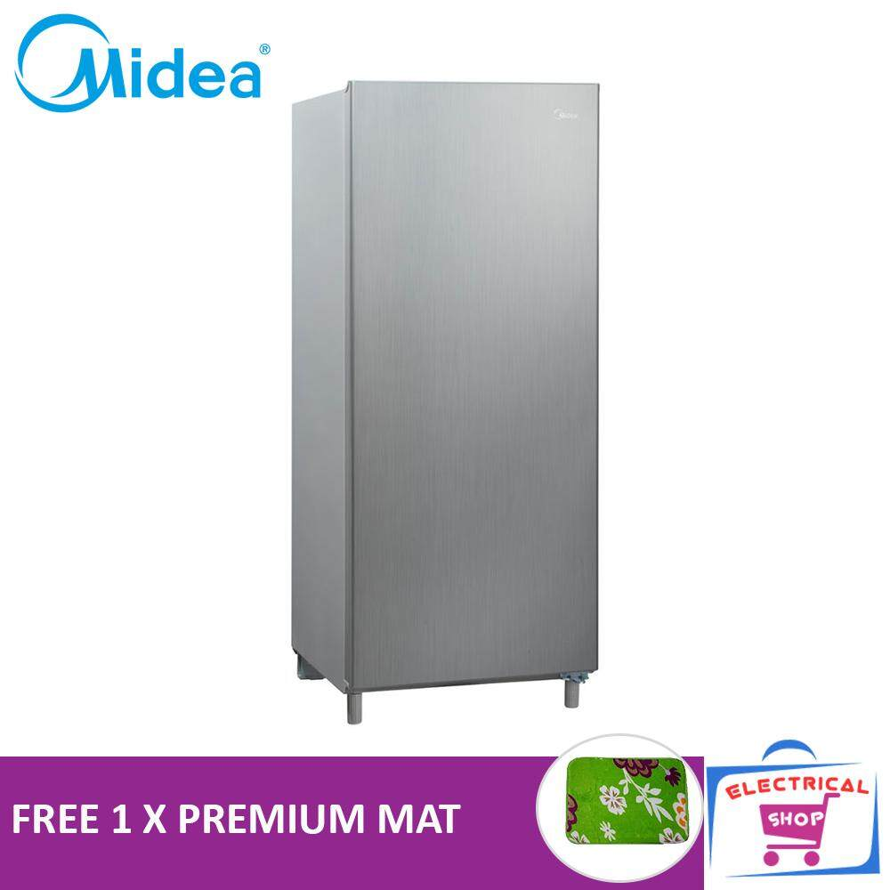 Midea MS196 Fridge 1 Door Fridge 156L (Free Premium Mat)