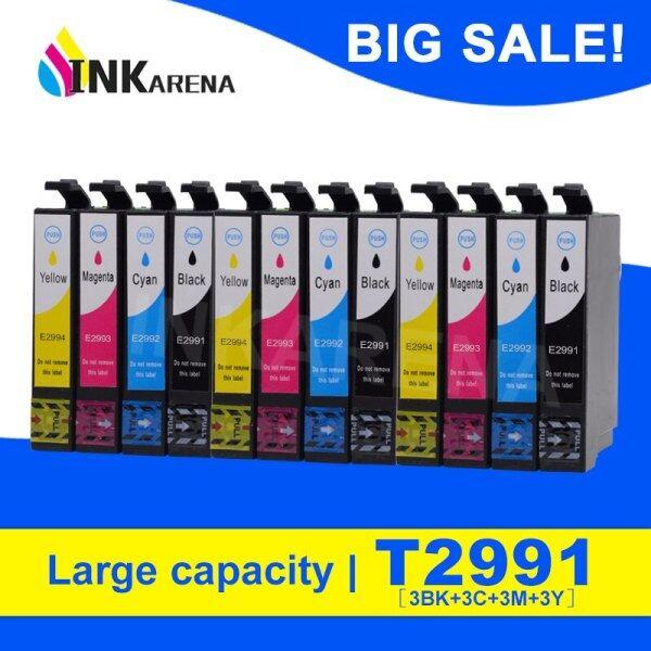 Giá 12PCS T2991 29XL T2994 Hộp Mực Cho Epson XP342 XP345 XP442 XP445 XP-445 XP-345 XP-342 Đầy Đủ Hộp Mực Máy In Ink