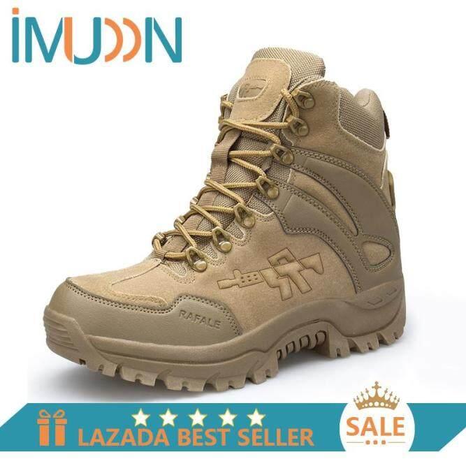IMUDON Nam Đi Bộ Đường Dài Giày Ngoài Trời Cao Hàng Đầu Leo Size 39-46 Miễn Phí Vận Chuyển giá rẻ