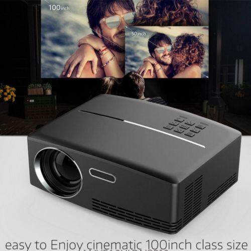 4 K Portable Led 3d Hd 1080 P Lcd Home Theater Cinema Proyektor Mini + 2x 3d Kacamata By Akaso Official Direct Store