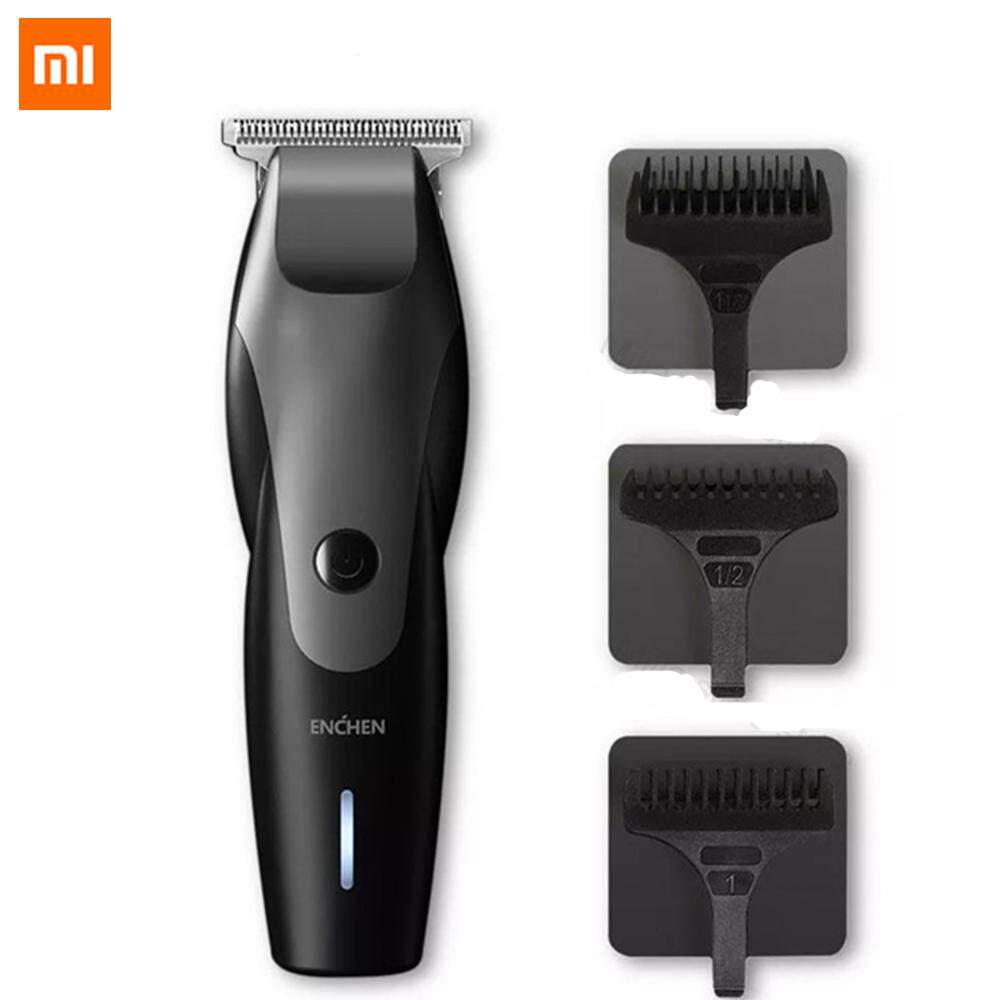 Xiaomi ENCHEN Hummingbird Electric Hair Clipper 10W USB Charging 110-240V Low Noise Rechargeable Mens Hair Trimmer with 3 Hair Comb for Man chính hãng
