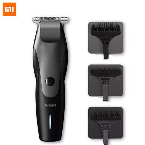 Xiaomi ENCHEN Hummingbird Electric Hair Clipper 10W USB Charging 110-240V Low Noise Rechargeable Mens Hair Trimmer with 3 Hair Comb for Man cao cấp