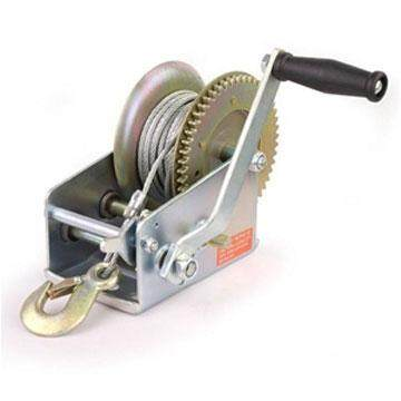 800LBS HEAVY DUTY HAND GEAR WINCH ( 5MM x 10M )