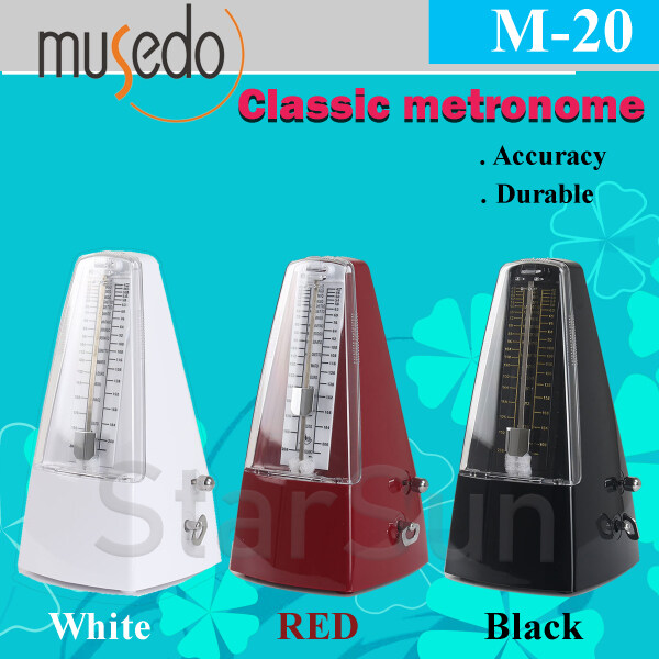 Musedo Classic mechanical Metronome D-20 Malaysia