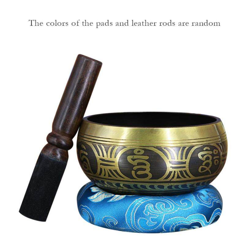Copper Buddha Sound Bowl Yoga Tibetan Singing Bowl Religion Belief Home Decoration 150mm
