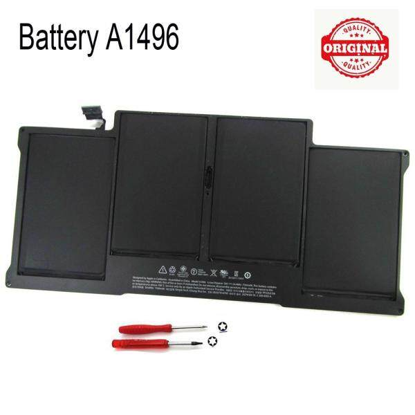ORIGINAL A1496 Battery For Apple MacBook Air 13  A1466(Mid 2013 / Early 2014) with tools Malaysia