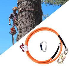 Bộ dây lõi thép 1/2 In X 8ft dùng buộc cây, dây xoay dài kèm bộ điều chỉnh carabiner, ba khóa – INTL
