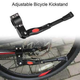 เชียร์มีขาตั้งพับเก็บได้ ด้านจักรยานอลูมิเนียมปรับสากลถนนจักรยานที่จอดรถสีดำ-นานาชาติ