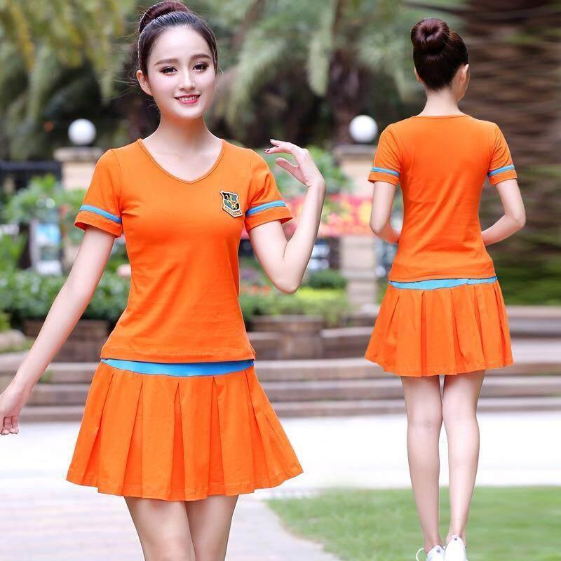 9bf781da51 Vestline Korean Women Tennis Shorts Skirt Anti Exposure Tennis Skirt Sports  GYM Fitness Running Yoga Jogging