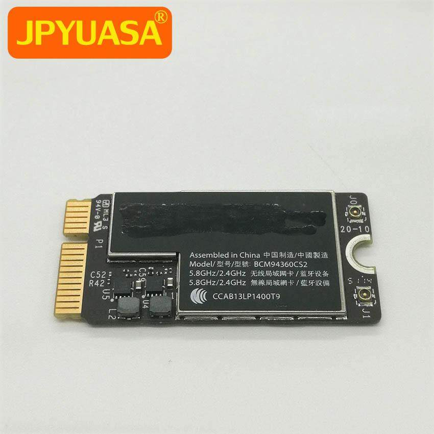 Original Bluetooth Wifi Wireless Airport Card Bcm94360cs2 For Macbook Air 13 A1466 Mid 2013 Early 2014 2015 2017 Malaysia