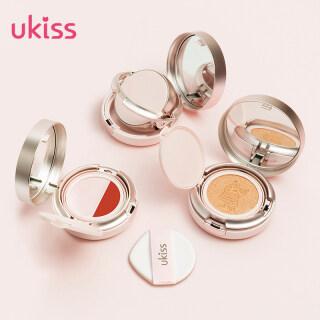 UKISS Bông Tuyết Quay Đệm BB Cream Kem Che Khuyết Điểm Giữ Ẩm Và Kiểm Soát Dầu Lâu Dài thumbnail
