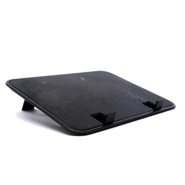 14 inch Notebook Cooler 5v Dual Fan USB External Laptop Cooling Pad Slim Stand High Speed Silent Metal Panel Fan Malaysia