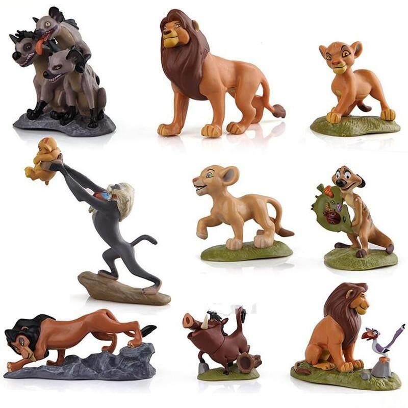 ... CENBLUE 9Pcs set The Lion Guard Lion King Simba Kion Bunga Beshte Fuli Ono PVC