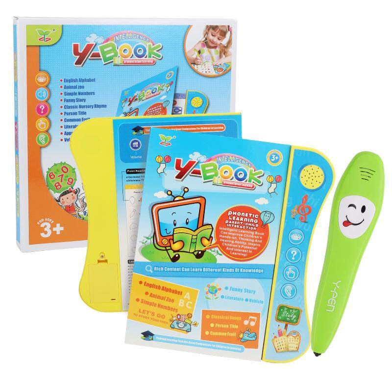 【ready Stock】kids Early Learning Book English Version Y-Book By Yipee Online Shop.