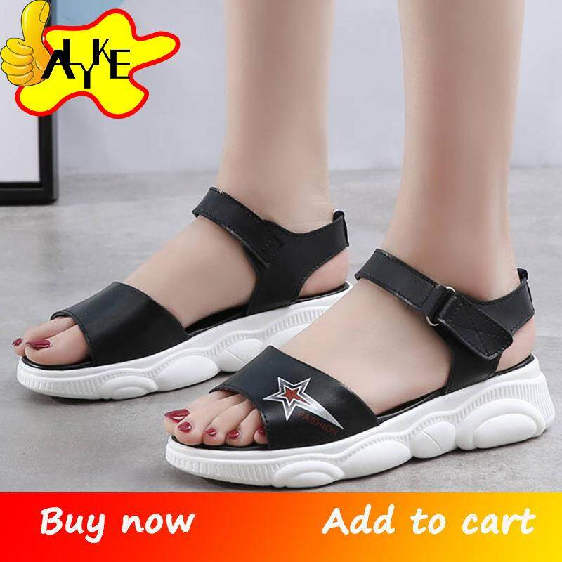a234f35af9fd5 ALYKE Sandals For Women Flat Sandals For Women Ladies Summer Beach Flip  Flops Fashion Women's Summer