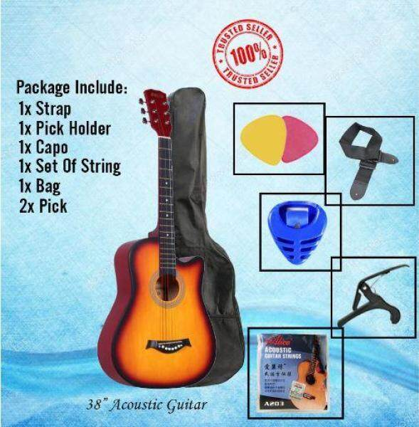 38 inch Guitar Package 7 in 1 (SunBurst) Malaysia