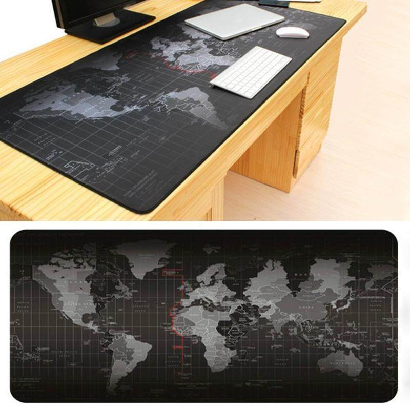Big Size Pro Gaming World Map Mouse Pad Mousepad for Dota LOL CS GO - intl Malaysia