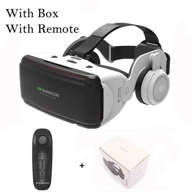 Shinecon SC-G06E Chuyên Nghiệp 3D VR Kính Thực Tế Ảo Tai Nghe Tai Nghe Nhét Tai Dành Cho 4.0