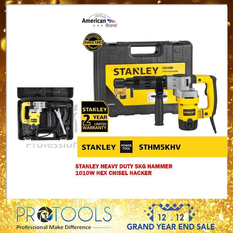 Stanley Sthm5khv 1010w 17mm Hex Chipping Hammer By Protools One Stop Solution.