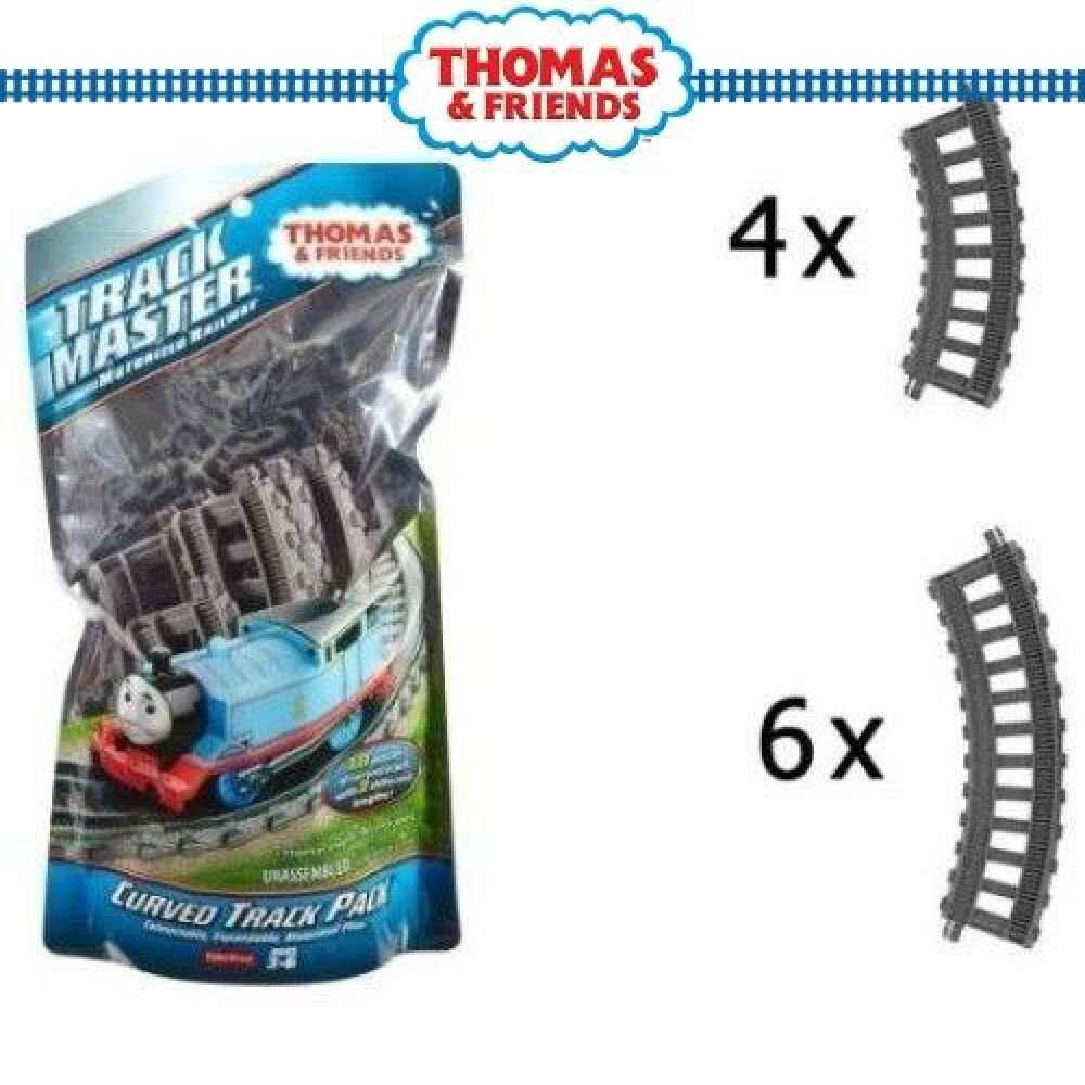 Gói Đường Cong Thomas & Friends Trackmaster (Dfm55) Đồ Chơi Xe Lửa Và Đường Sắt Cho Trẻ Em Trai Girls2020 Siêu Khuyến Mại
