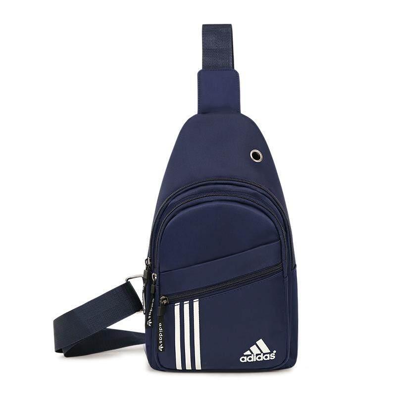 PU//Nylon Men Chest Bag Backpack Crossbody Messenger Sling Shoulder Waist Packs